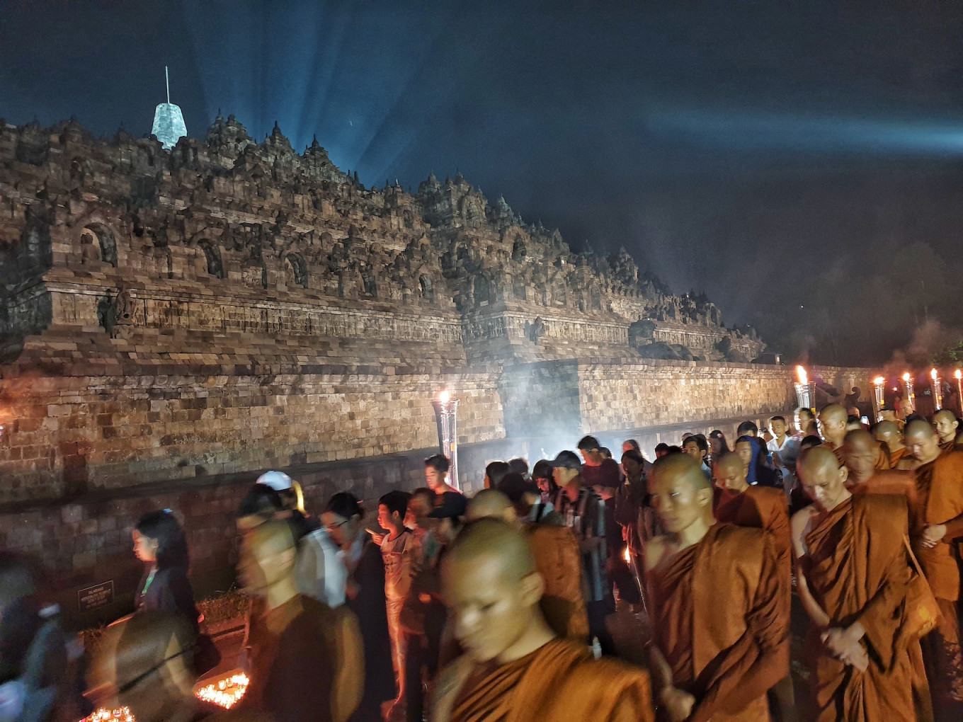How Borobudur temple affects tourism in Magelang