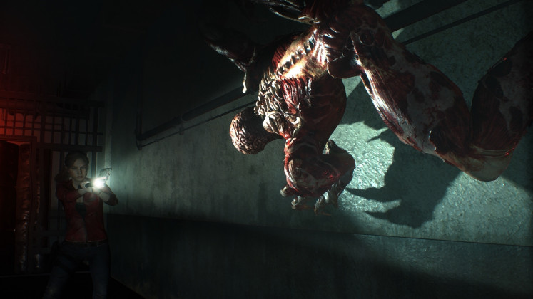 Scary still: The remake retains the element of terror.