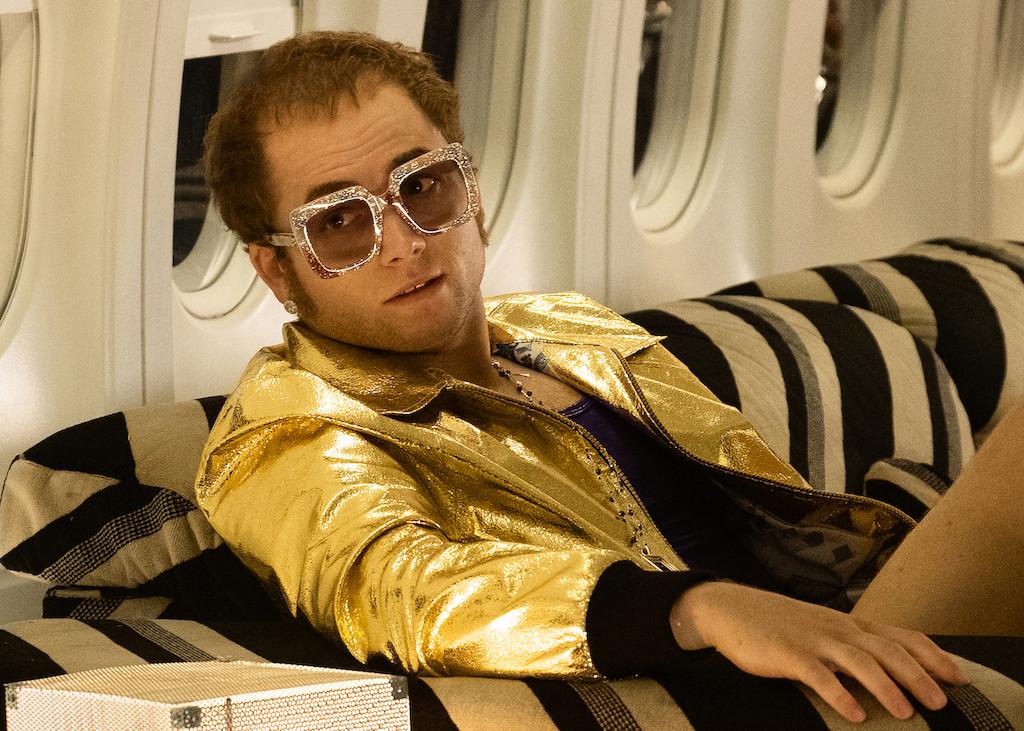 Sparkling jewelry help transform actor Taron Egerton into Sir Elton John in 'Rocketman'