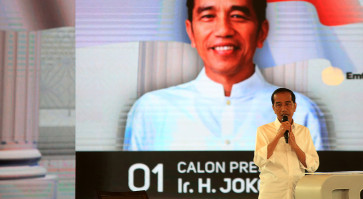 KPU names Jokowi winner of election