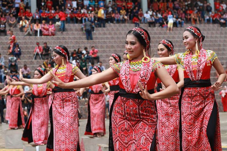 34th Dayak Festival officiatedin West Kalimantan
