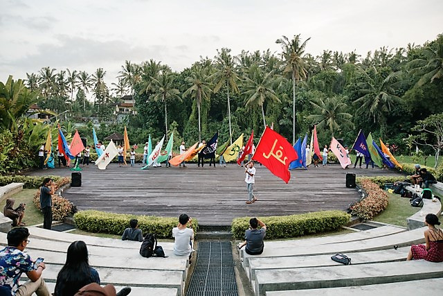 'Flag Project': Arahmaiani's eloquent art statement