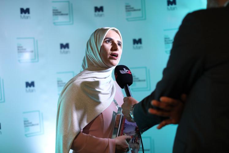 Omani writer Jokha Alharthi wins Man Booker literature prize