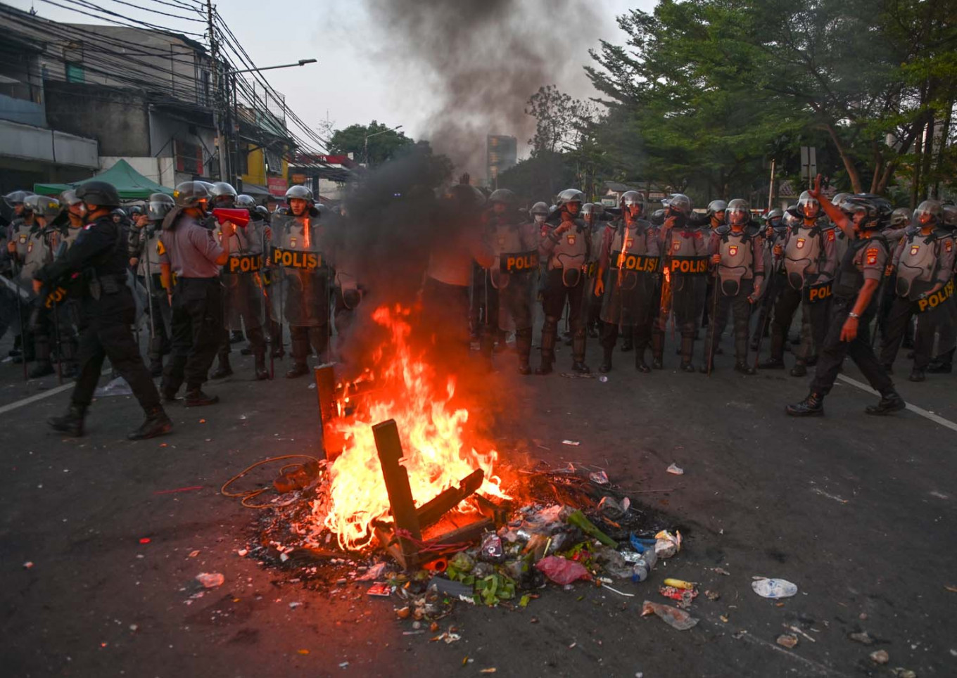 Six dead after election riots erupt in Indonesia's capital
