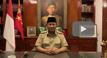 Put your trust in the law: Prabowo