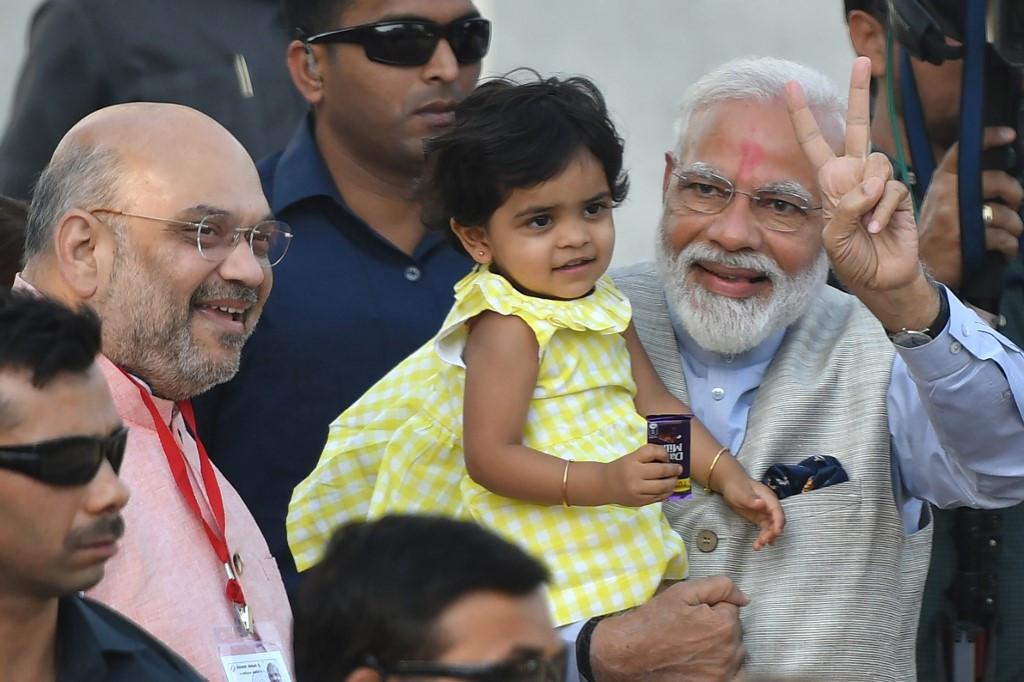 Modi claims India poll victory, vows 'inclusive' future
