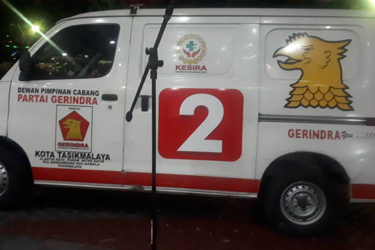 Gerindra ambulance found loaded with rocks during May 22 riots