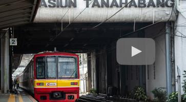MRT, commuter line, Transjakarta resume operations with modifications