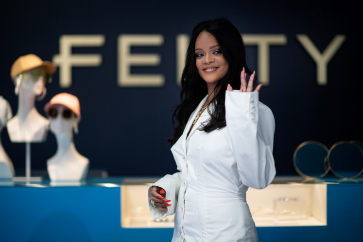 Rihanna hails 'carte blanche' at LVMH with new fashion line