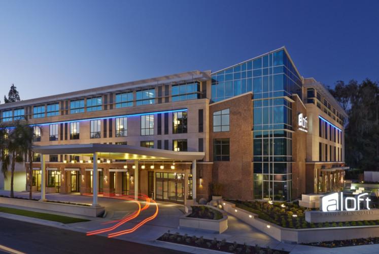 Aloft Cupertino hotel in Silicon Valley, United States.