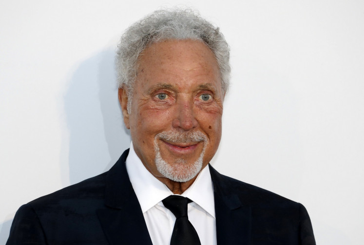 Tom Jones, Mariah Carey amp up the glamour at Cannes fundraiser
