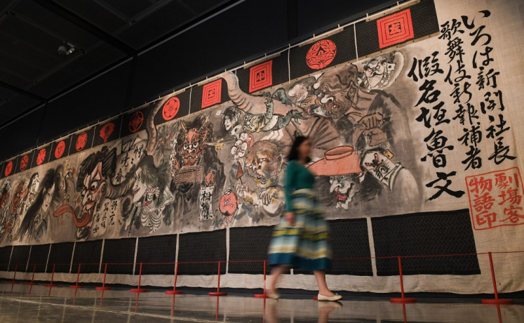 'Pictures run riot' in major London manga show