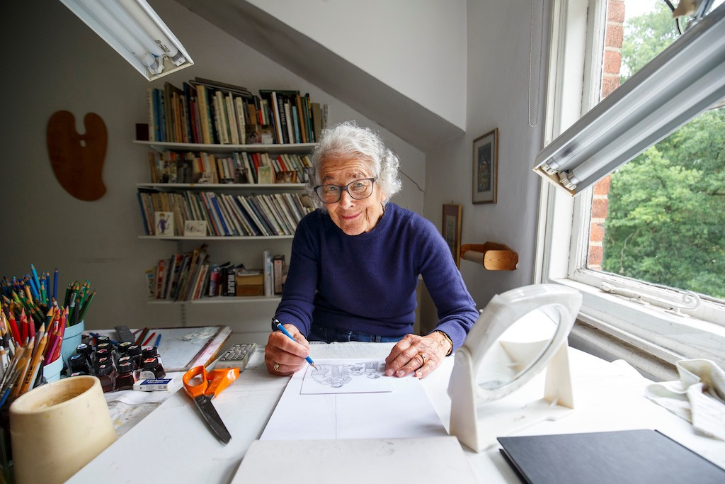 The Tiger Who Came To Tea' author Judith Kerr dead at 95 - People ...