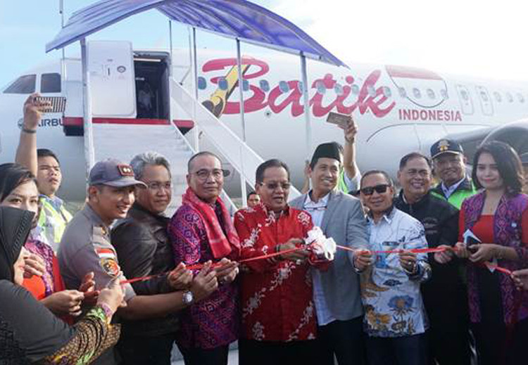 Batik Air opens direct flight from Jakarta to Luwuk, South Sulawesi