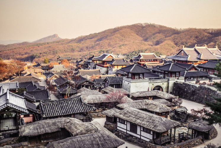 The Korean Folk Village is often used as a filming location in South Korea.