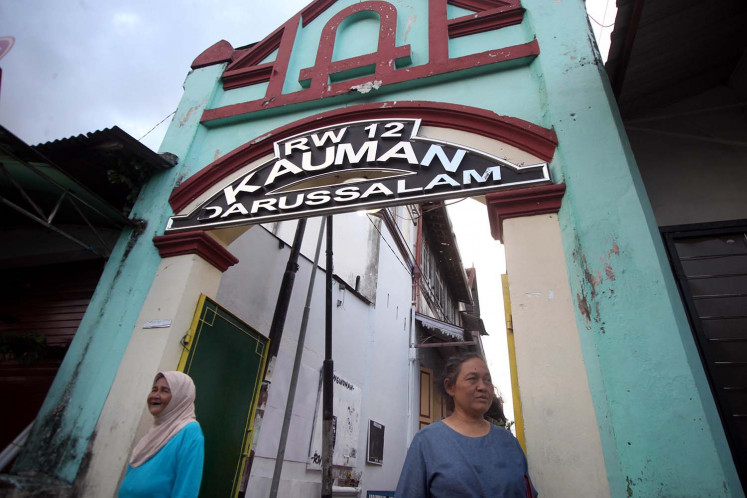 Kauman, home of ulemas