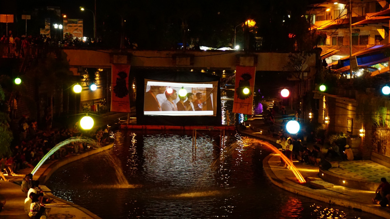 River cinema among Bali's newest tourist attractions