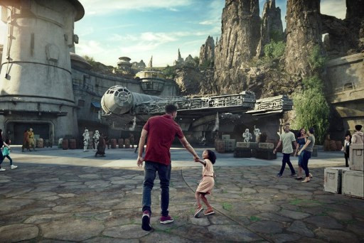 Star Wars theme park opens at Disneyland