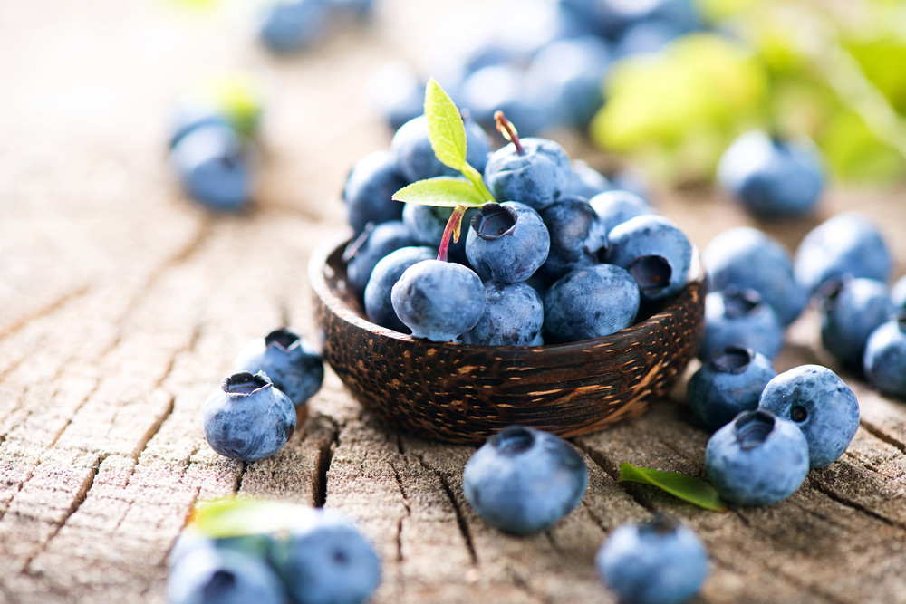 Eating blueberries every day good for heart