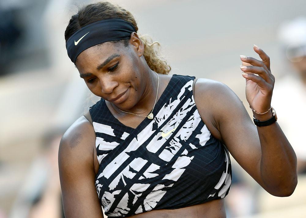 Serena working to reduce mental stress, expectation