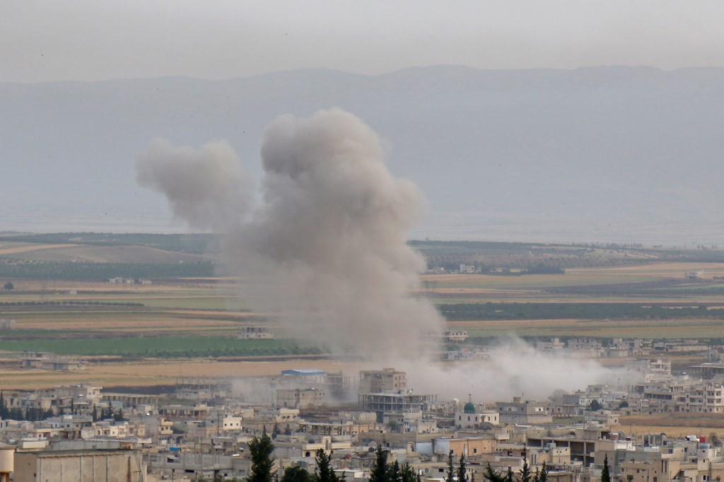 'STOP!' bombing, killing in Syria's Idlib: Trump