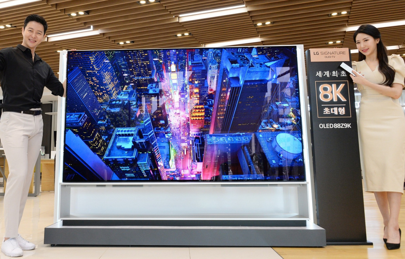 LG starts selling world's first 8K OLED TV