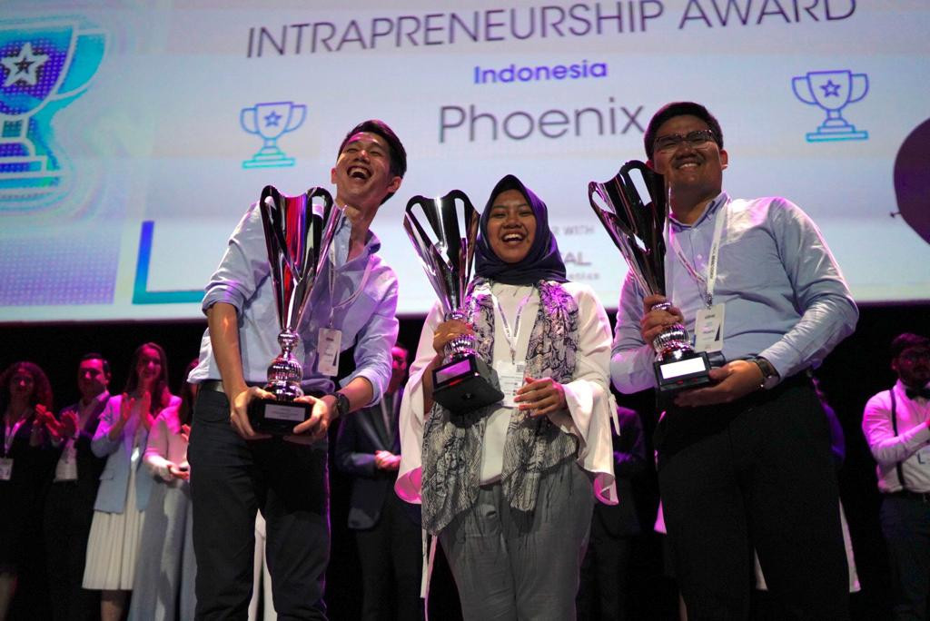 ITB students named Global Winners of L'oreal Brandstorm Challenge in Paris