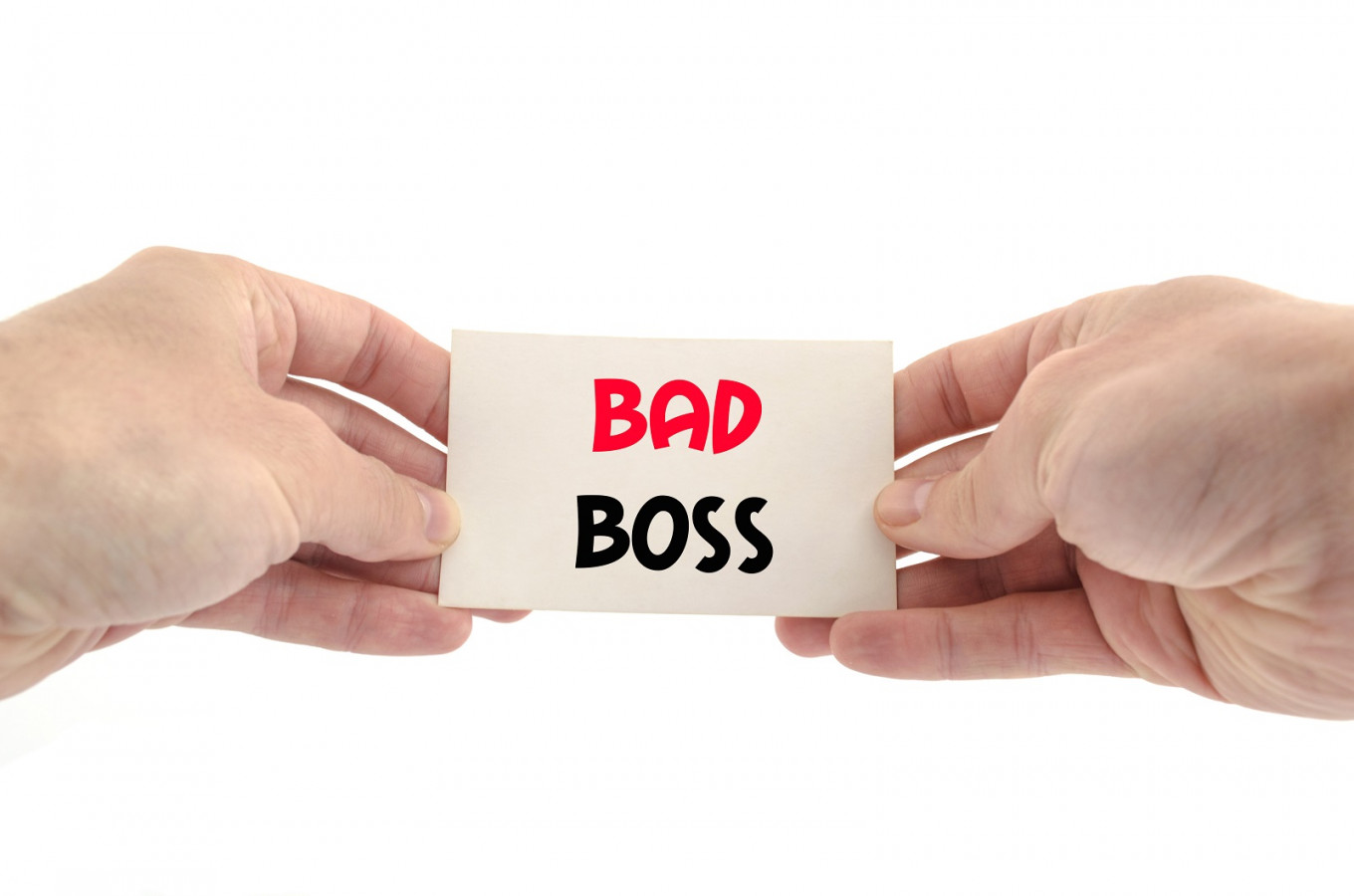 Could a bad boss make you a better leader?