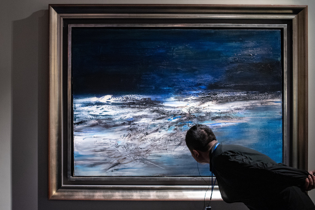 Chinese artists set new records at Paris auction