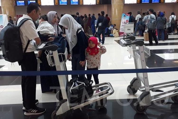 Samarinda international airport reopens following repair to damaged runway