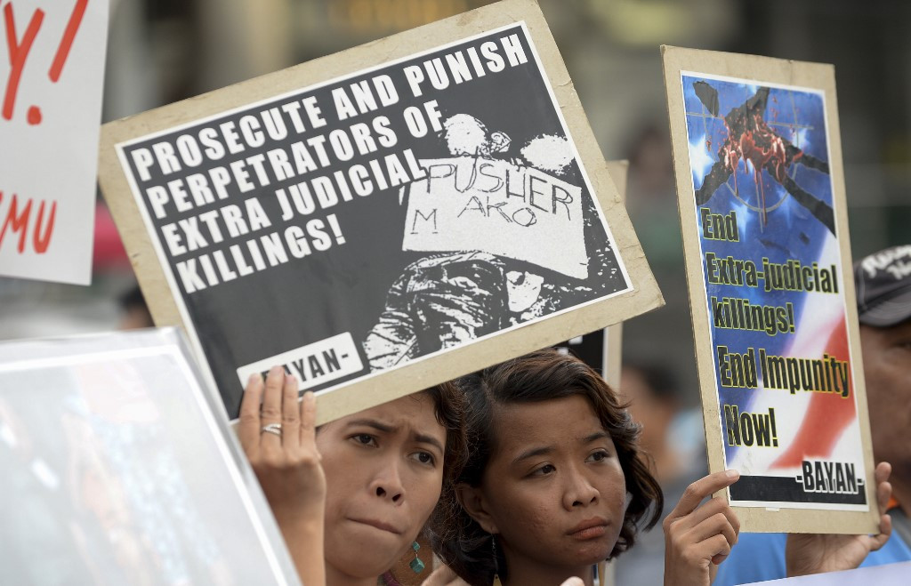 Philippines rejects call for UN rights council probe