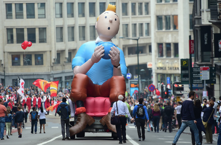 Kilt helped Tintin come out as more PC comic hero, says expert