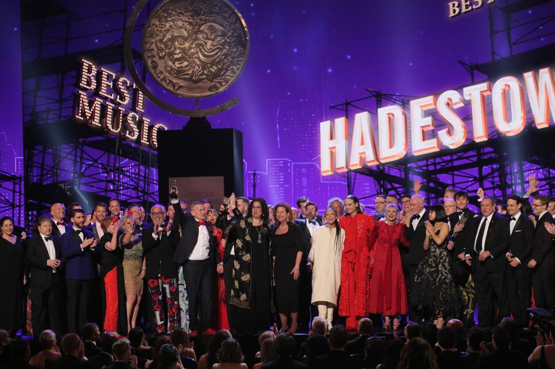 'Hadestown', Cranston win big at Tonys, 'Ferryman' best play