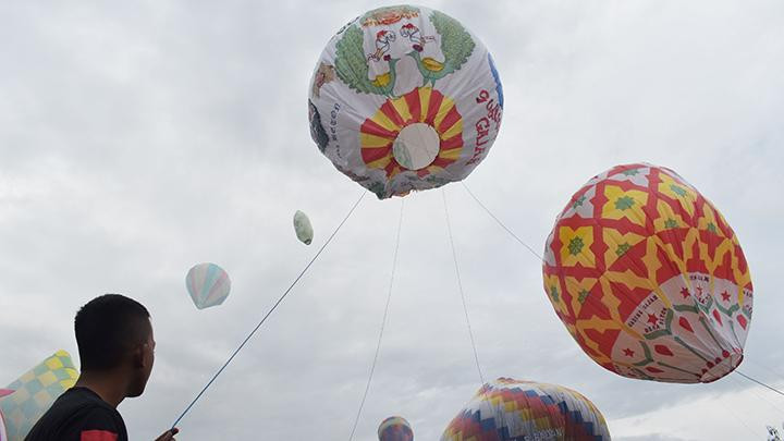 Hot air balloon festival returns to Ponorogo, East Java