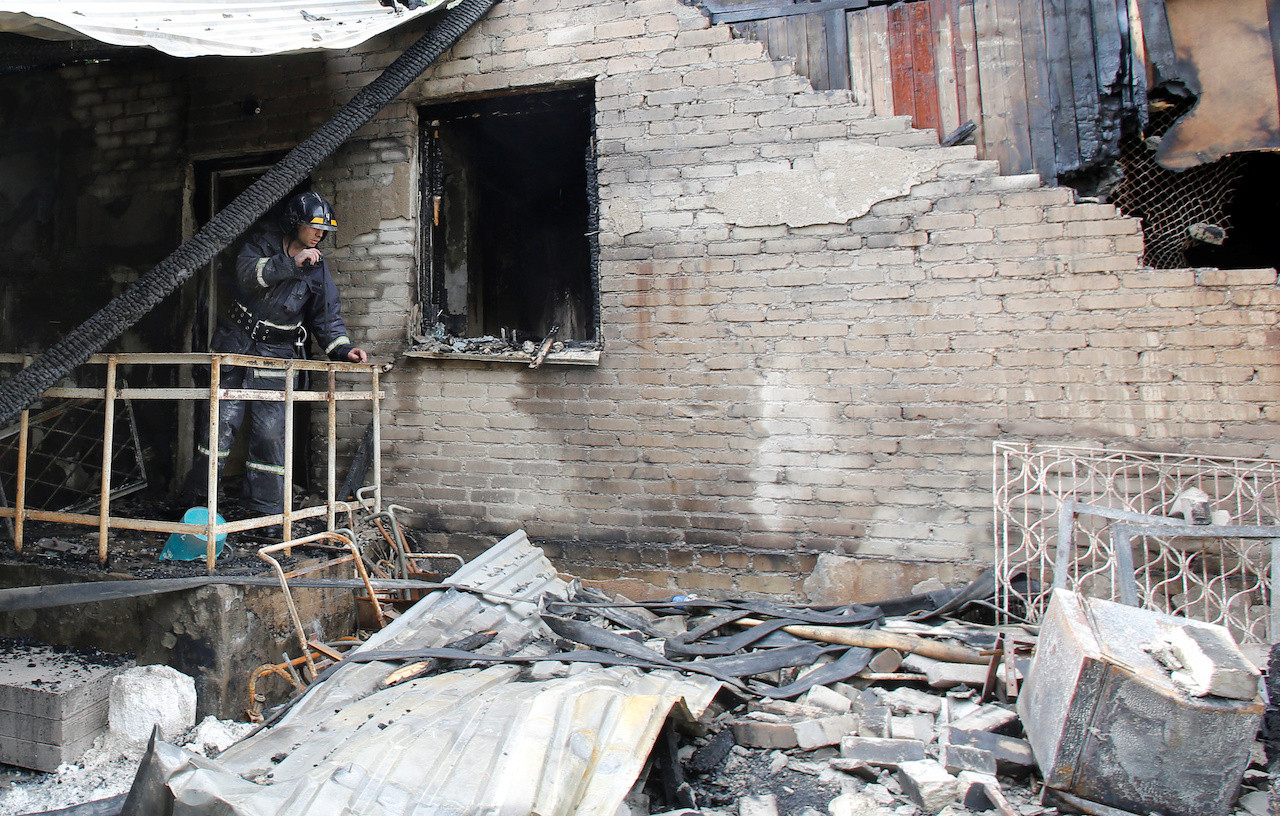 Six die in fire in Ukraine psychiatric clinic