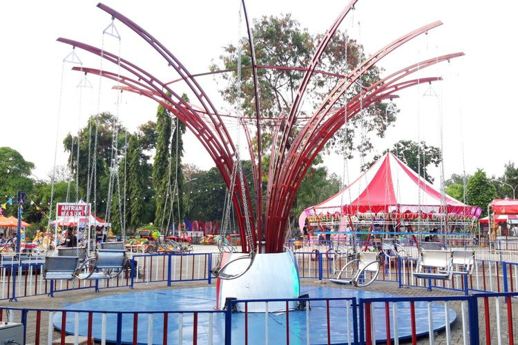 No need to make fuss about collapsed swing carousel: Jakarta Fair management