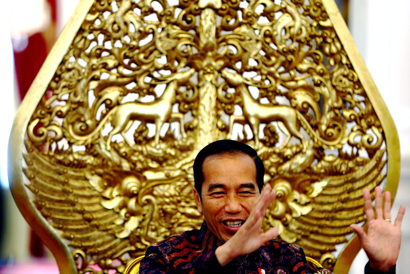 Jokowi hosts Independence Day-themed photo contest on Instagram