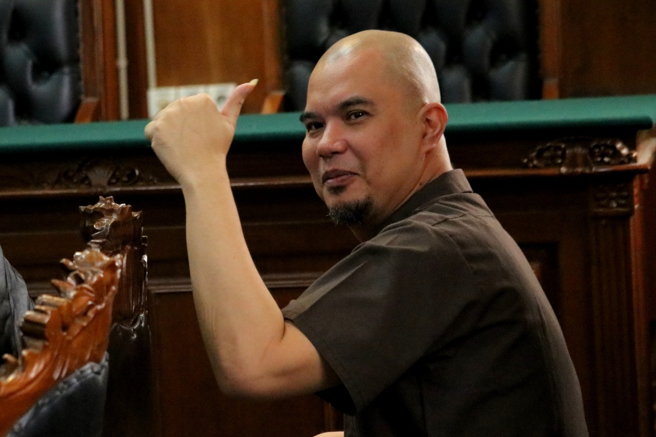 Ahmad Dhani gets one year jail sentence for calling political rivals idiots