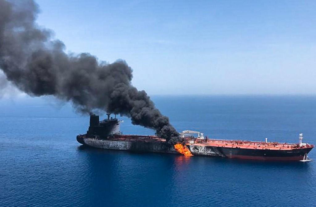 Crude oil tanker bursts into flames in Medan, injuring 22