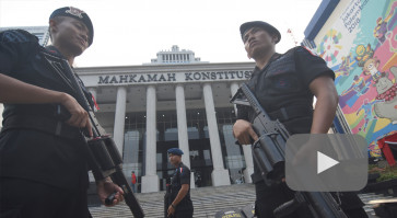 Security forces brace for first hearing