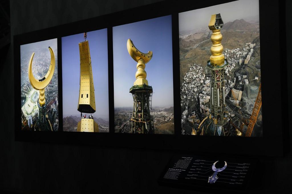 Mecca Clock turns into tourist draw