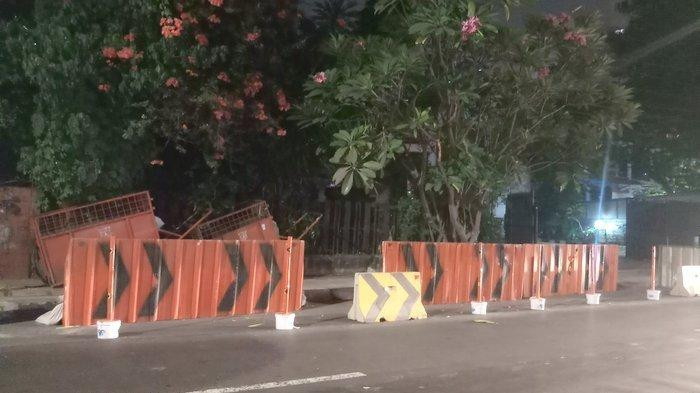 Central Jakarta to get wider sidewalks with benches