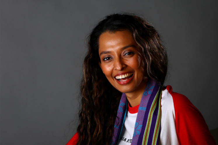 Actor Shafira Umm stars in 'Rumah Merah Putih' as Rosalia, a housewife who decides to become an Indonesian citizen after the 1999 East Timorese independence referendum.
