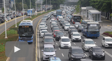 'Believe it or not': Jakarta traffic improves, says global index