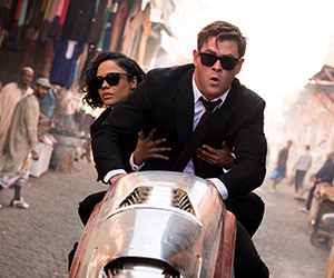 Latest 'Men in Black' leads box office but fails to wow critics