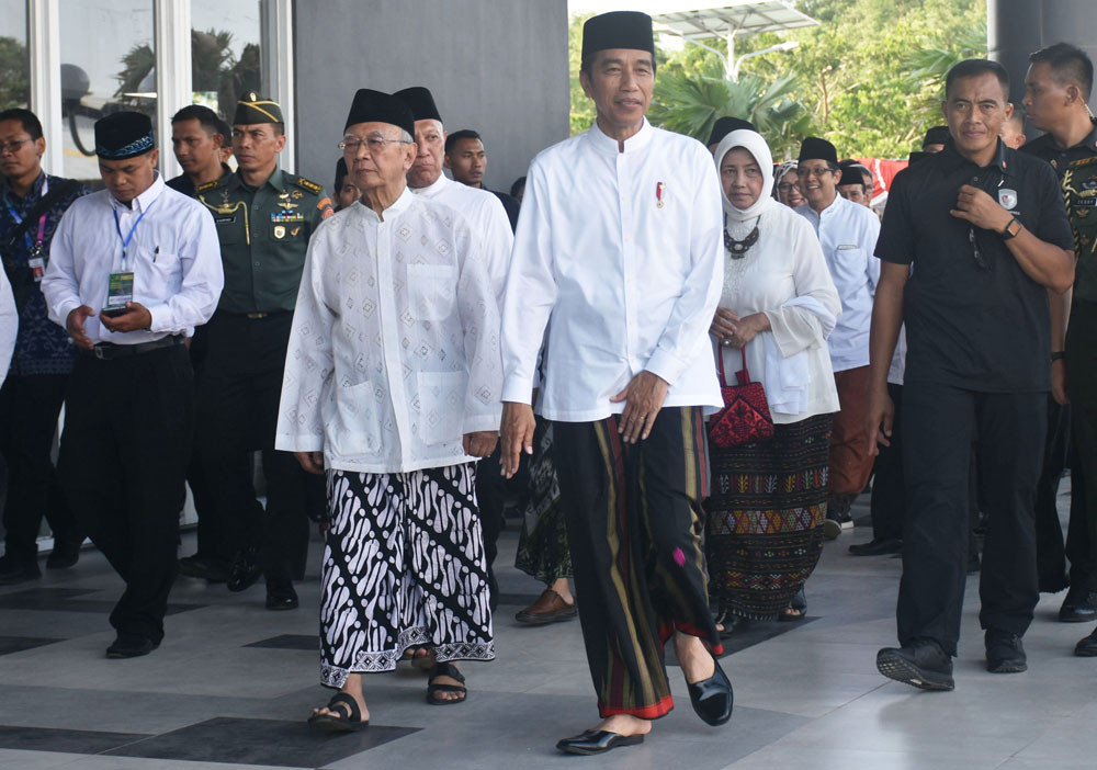 Ruling coalition remains solid: Jokowi