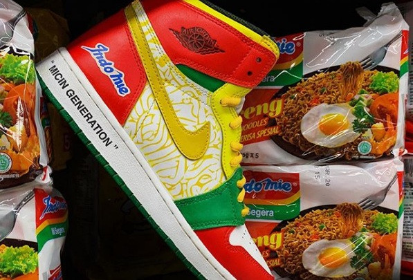 Nike meets Indomie in fan-made Air Jordan design
