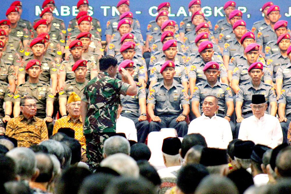 Jokowi revives deputy commander post for Indonesian Military