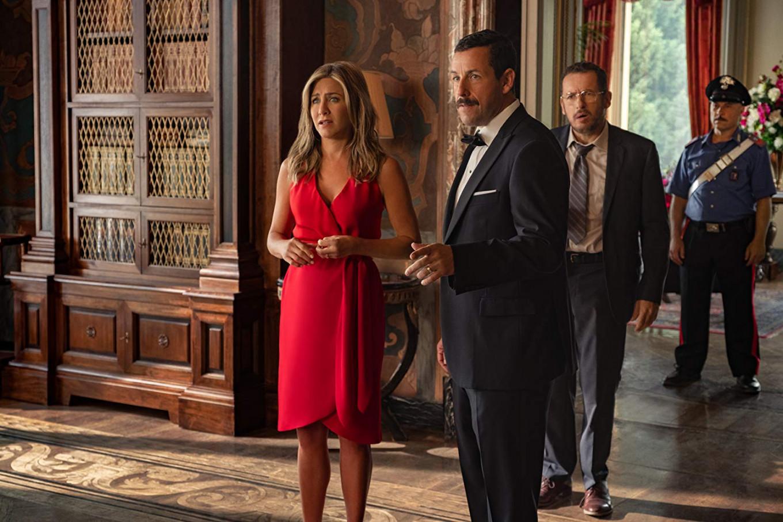 'Murder Mystery,' starring Jennifer Aniston and Adam Sandler, scores record stats for Netflix