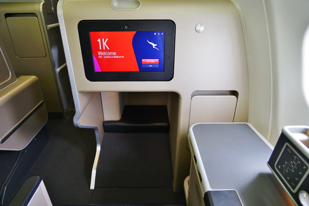 That business-class seat on points just became pricier at Qantas